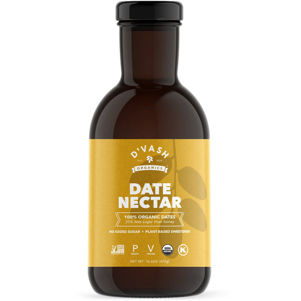 Original D'vash Date Nectar (Available in: 16.6oz and 5.6oz)