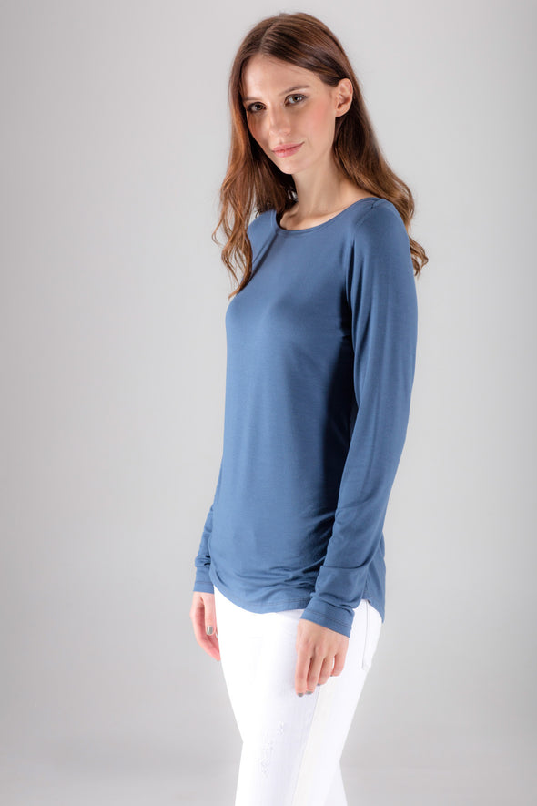 Hailes Top - Airforce Blue