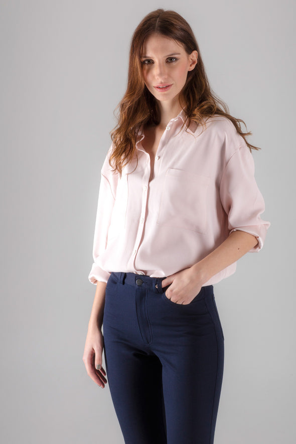 Langley Shirt - Antique Blush