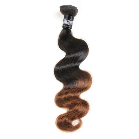 Brazilian Hair REMY 100% Natural Hair OMBRE T2 Body Wave