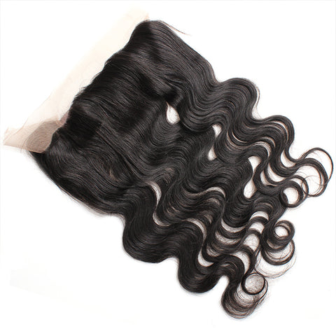 360° Lace Closure Brazilian 100% REMY Natural Hair Body Wave