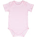 Softest Pima Cotton Pink Bodysuit
