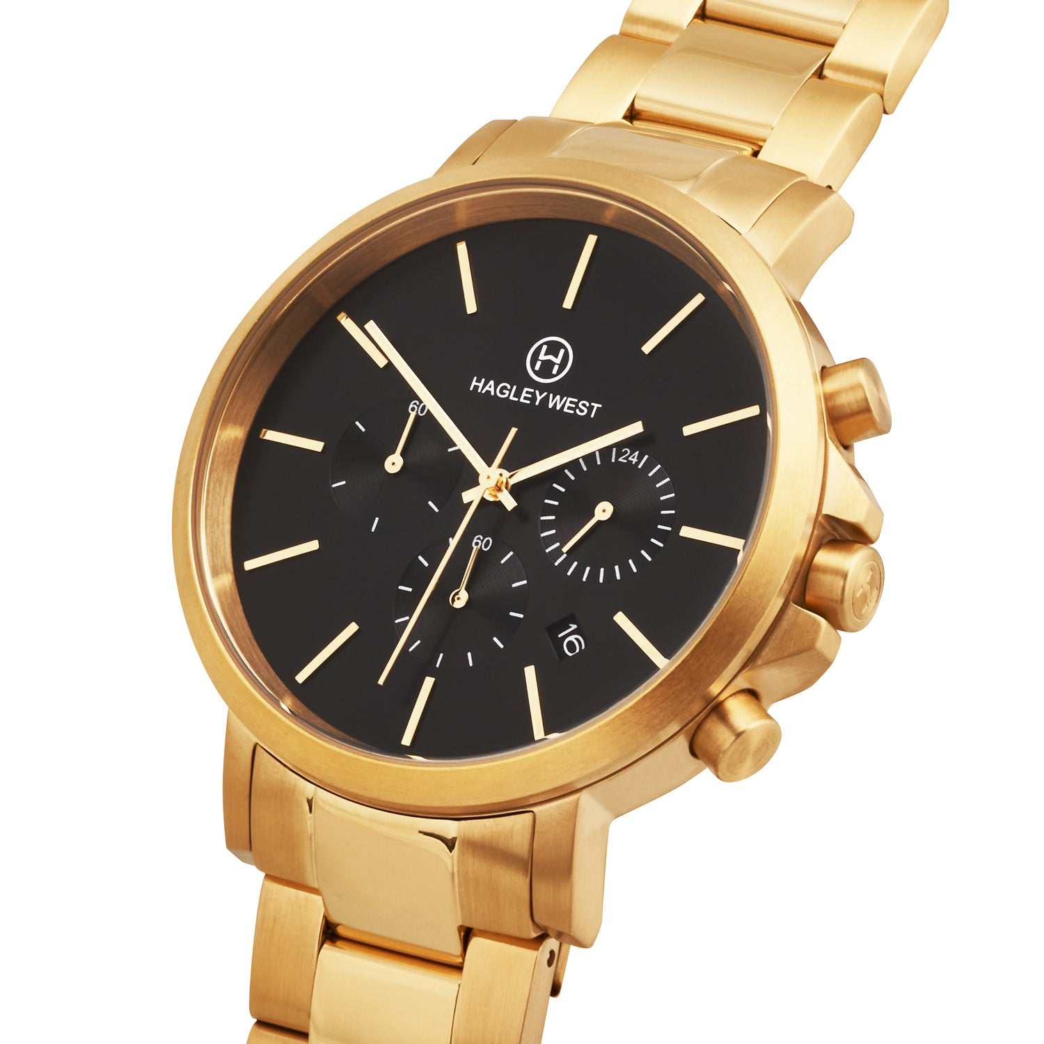 Chrono - HWW104 | Gold/Gold Link