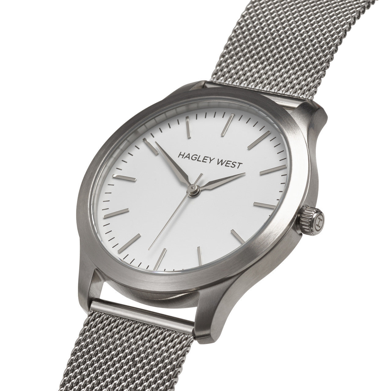 Classic - HWW001 | White/Silver Mesh