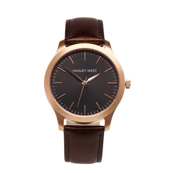 Classic - HWW004 | Black/Brown Leather