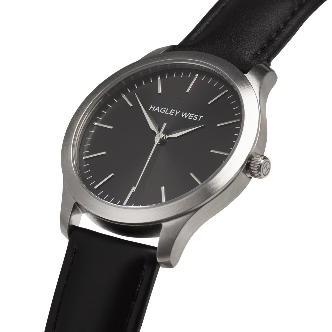 Classic - HWW005<!-- split -->Black/Silver/Black Leather
