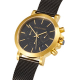 Chrono - HWW019 | Gold/Black Mesh