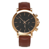 Chrono - HWW026 <!-- split -->Rose Gold/Brown Bamboo