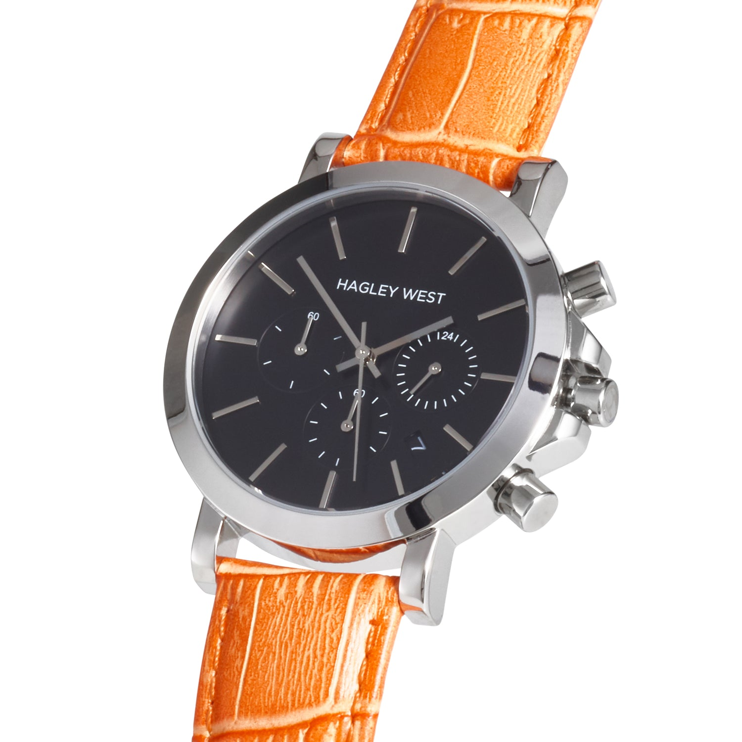 Chrono - HWW024 | Black/Orange Bamboo