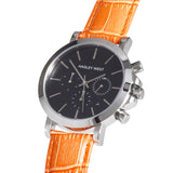 Chrono - HWW024 <!-- split -->Black/Orange Bamboo