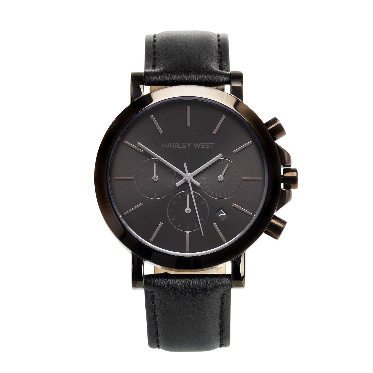 Chrono - HWW014 <!-- split -->Black/Black Leather