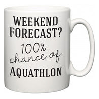 Weekend Forecast?  100% Chance of Aquathlon  Mug