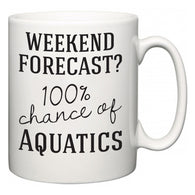 Weekend Forecast?  100% Chance of Aquatics  Mug