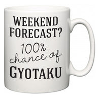 Weekend Forecast?  100% Chance of Gyotaku  Mug