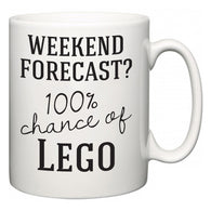 Weekend Forecast?  100% Chance of Lego  Mug