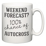 Weekend Forecast?  100% Chance of Autocross  Mug
