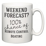 Weekend Forecast?  100% Chance of Remote Control Boating  Mug