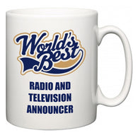 World's Best Radio and Television Announcer  Mug