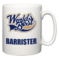 World's Best Barrister  Mug