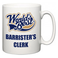 World's Best Barrister's clerk  Mug