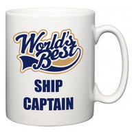World's Best Ship Captain  Mug