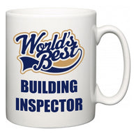 World's Best Building Inspector  Mug