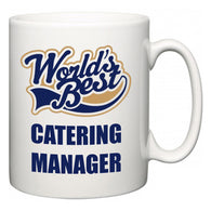 World's Best Catering manager  Mug