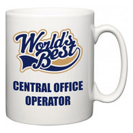 World's Best Central Office Operator  Mug