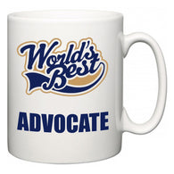 World's Best Advocate  Mug