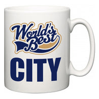 World's Best City  Mug