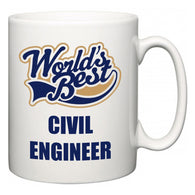 World's Best Civil Engineer  Mug