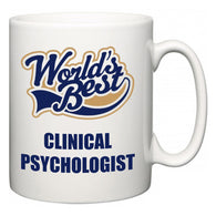World's Best Clinical Psychologist  Mug