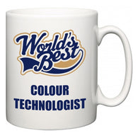 World's Best Colour technologist  Mug