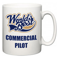 World's Best Commercial Pilot  Mug