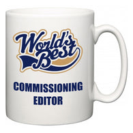 World's Best Commissioning editor  Mug