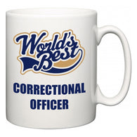 World's Best Correctional Officer  Mug