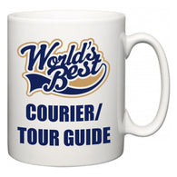 World's Best Courier/tour guide  Mug