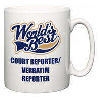 World's Best Court reporter/verbatim reporter  Mug