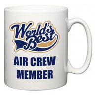 World's Best Air Crew Member  Mug