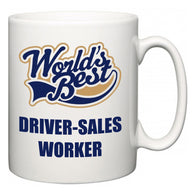 World's Best Driver-Sales Worker  Mug