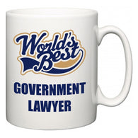 World's Best Government lawyer  Mug