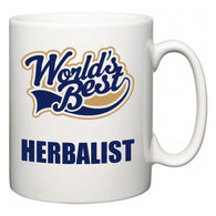 World's Best Herbalist  Mug
