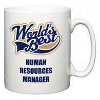World's Best Human Resources Manager  Mug