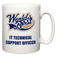 World's Best IT technical support officer  Mug