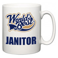 World's Best Janitor  Mug