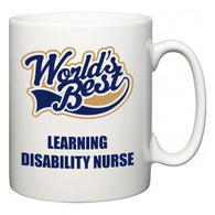 World's Best Learning disability nurse  Mug