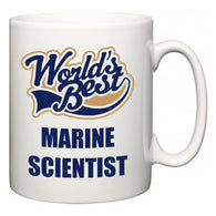 World's Best Marine scientist  Mug