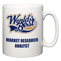 World's Best Market Research Analyst  Mug