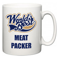 World's Best Meat Packer  Mug