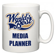 World's Best Media planner  Mug